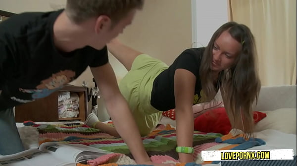 Step Brother With Stepsister Change Playing Games Into Fuck ...