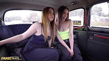 Fake Taxi Hot Steamy 3 Way with Latina babes Anastasia and Ginebra and Euro cabbie
