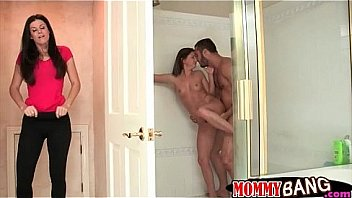 Stare shower and Penis and