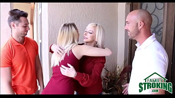 Hot Blonde Girlfriend Sierra Nicole Fucked By Dad