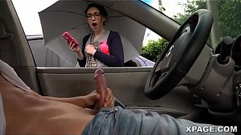jerking off in car and got caught