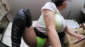 Cute Japanese Girl in Boots Facesits Her Boss