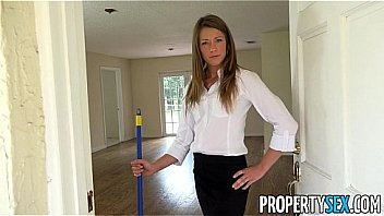 PropertySex - House flipping real estate agent fucks her handyman
