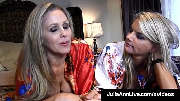 Milf Lesbian Lovers Julia Ann & Vicky Vette stuff their expert tongues into each other's warm, willing mature muffs until they make each other cum! Full Video & Julia Live @ JuliaAnnLive.com!