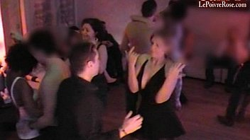 Hidden cam in a French swingers club! Part25