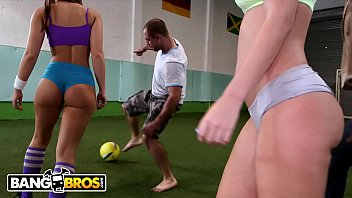 BANGBROS - Young Big Booty White Girls Playing With Balls For Fun