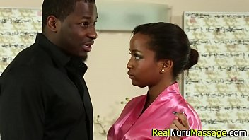 Black nuru masseuse rides
