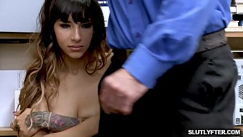 LP Officer finger fucking Kitty Carreras tight pussy and plays her clit making her so wet!