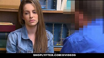 Pregnant Thief (Kimmy Granger) Pays Sex To Get Out