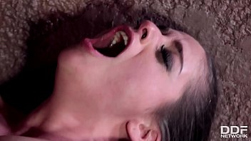 Submissive BDSM Queen Cathy Heaven Choked With Beld & DP'ed To The XXXtreme