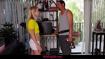 Karups - Horny Blonde Teen Girl Gets Fucked By Latin Lover