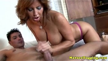 Bbw Cougar With Husband Suck His Cock