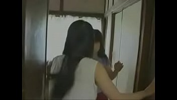 japanese y. sister watches her elder bitch sister cheating with other man