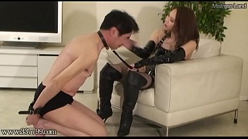 Japanese femdom Haruna Ikoma Returned Masochistic Slave Total Retraining 1