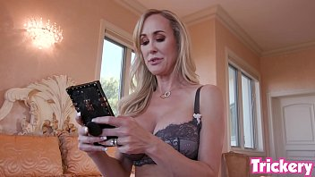 Brandi Love creates a fake dating app profile to lure and fuck her step-son
