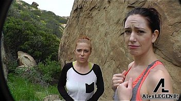 Hottest Hiking 3some! Alex Legend Fucks Sarah Shevon & Penny Pax!