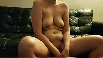 Warming myself up for my neighbor to pound my pussy