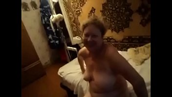 russian boy watches granny masturbate