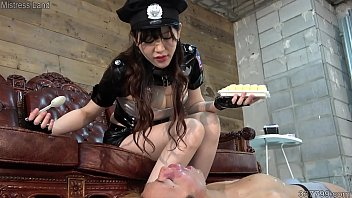 Japanese Dominatrix Rui Foot Fetish and Food Fetish