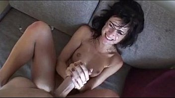Hot slut loves to get cumshots on her for fun