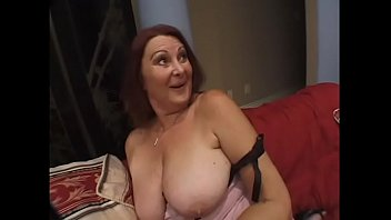 Slutty mature Gigi takes huge dick in her wet cunt and shouts out of pleasure