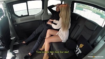 VIP SEX VAULT Lucky guy gets hot fuck with Czech babe In Taxi