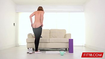 Point of View Casting of Tall Teen Natalie Porkman and With Cum Inside Her