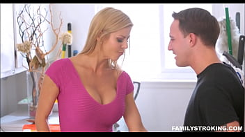 Big Tits Blonde MILF Step Mom Alexis Fawx