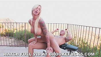Brooke Banner Outdoor Fuck