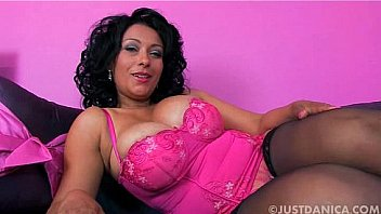 Danica Collins (Donna Ambrose) Gives Close Up Of Her Pink Pussy