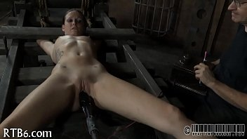 Sexy whipping for beauty's arse