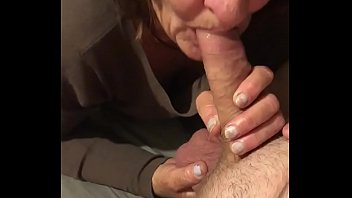 Nana taking big cock down her throat
