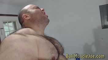 Promo Video of a gay hairy muscle bear
