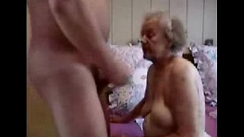 Blowjob and old couple young couple