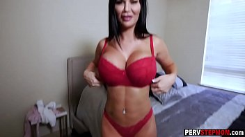Mad dirty stepmom enjoyed with him in a stepsons care