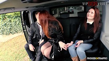 VIP SEX VAULT - Raunchy Redhead Isabella Lui Gets Deep Pounded By Dirty Driver