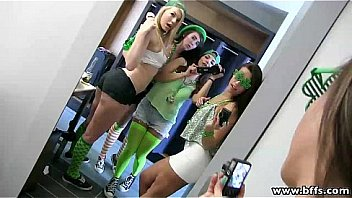 BFFs - A Group Fuck Fest On St. Pattys!