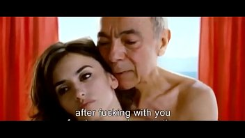 Old guy fucks Penelope Cruz
