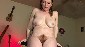 Hairy Blonde Milf Dirty Talking Solo Masturbation and Orgasm - thelebowskis
