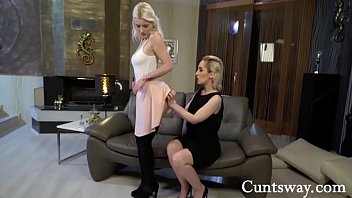 Beautiful Blonde Gets Fucked By Granny