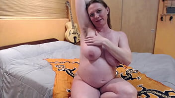 Pregnant Milf Fucks Hairy Armpit Cucumber and Ass with Strawberry - thelebowskis