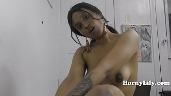 Indian girl HornyLily sucks off her step brother in Hindi roleplay
