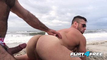 Flirt4Free - Killian and Crew - Athletic Studs Have Barebacking Fun Looking at the Ocean