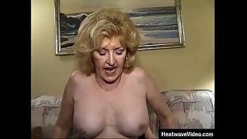 Fuckin At 50 #3 Kitty Fox, Johnny Sunset, Scott Mills Young guy watching with desire and admiration at the mature woman