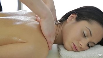 Petite babe fucked by the masseur