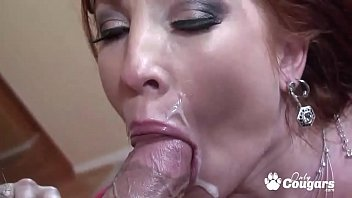 Slutty Cougar Brittany Oconnell Gets A Load Shot On Her Pretty Face