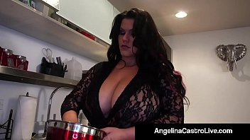 Cuban BBW Goddess Angelina & Her faithful Fuck Buddy Roberta, take a Cock into their Saliva drenched Mouths & Get A Load On Their....! Full Video & Angelina Live @AngelinaCastroLive.com