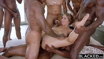 Blacked Lena Paul Gangbang