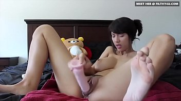 Irresistible Asian Babe amy21 From Filthy4u.com Masturbating on Cam