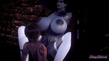 Resident Evil Hentai Point Of View Lady Dimitresku boobjob and